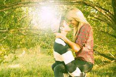 Adorable couple photo