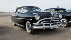 Hudson Hornet -- The Fabulous Hudson Hornet dominated NASCAR with 66 wins in just three years, 1952-1954.