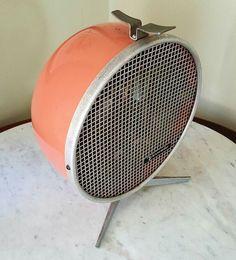 Mid Century 1950's Retro Vintage Salmon Vornado Heater Fan | Antiques, Periods & Styles, Mid-Century Modernism | eBay!