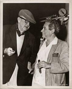 John Ford with Sam Fuller.
