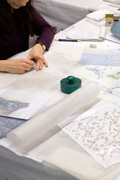 Atelier couture, sewing, Fashion atelier, Chanel spring summer 2012