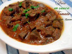 foie de mouton en sauce Mouton Curry