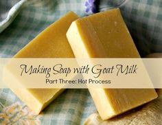 crockpot goat milk soap