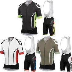 2016 Pro Team Cycling Jerseys Maillot Ciclismo Cycling Clothing And Gel  Breathable Pad Bib Shorts Sets 3 Color a4888aa05