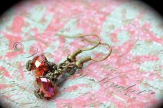 Game of Thrones, Lord of the Rings, Night Fury, Toothless, Red Dragon Dangle Earrings