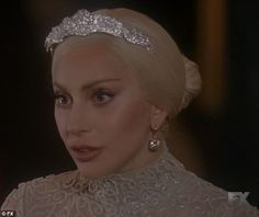 The bride: The Countess, played by Lady Gaga, got hitched on Wednesday night's episode of American Horror Story: Hotel The Countess Ahs, American Horror Story Hotel, Lady Gaga Pictures, Photocollage, Bridezilla, White Aesthetic, Wedding Bridesmaid Dresses, Horror Stories, Pretty Woman