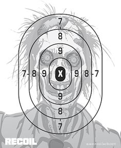Recoil Zombie Target