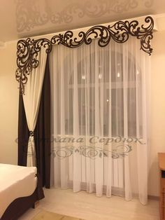 40 great ideas for wooden curtains - decorative elements - deco - element . - 40 great ideas for wooden curtains – decorative elements – deco – # - # Home Curtains, Curtains Living, Custom Curtains, Grommet Curtains, Ideas For Curtains, Curtain Ideas For Living Room, Curtain Designs For Bedroom, Modern Curtains, Valances