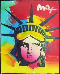 Liberty--Peter Max