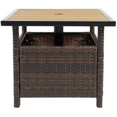 Best Choice Products Patio Umbrella Stand Wicker Rattan Outdoor Furniture Garden Deck Pool * Be sure to check out this awesome product. (This is an affiliate link) #OutdoorFurniture