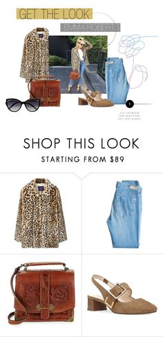 """""""Emma Roberts"""" by samantha-tia-rose ❤ liked on Polyvore featuring MANGO, AG Adriano Goldschmied, Patricia Nash, Nine West and La Perla"""