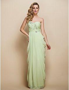 Vestido de Noche Un Hombro color verde salvia   Vestidos de Fiesta Baratos