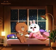 BROWN is the sweetest boyfriend ever! Cute Love Gif, Cute Love Pictures, Cony Brown, Brown Bear, Cute Love Cartoons, Cute Cartoon, Kawaii, Cute Couple Comics, Cute Bear Drawings