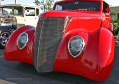 Custom 1937 Ford Roadster