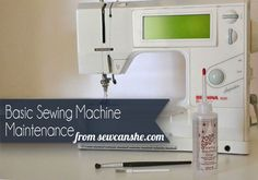 Your sewing machine works so hard for you that I know you want to keep her  purring. Just a few hours of sewing will cause fuzz and lint to build up  under the needle plate. Sometimes pieces of thread can get lost under there  too. Cleaning your sewing machine regularly can prevent broken needles and  mechanical problems.
