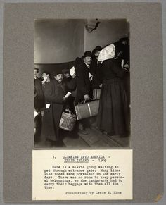 Ellis Island Immigrants Stories | ... story, rather than coldly labelling them with number tags like the