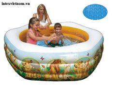 Bể bơi phao INTEX 57497 ngũ giác - Lion King