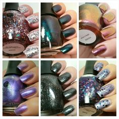 Finger Paints Bright Light Big City Collection Swatches and Review
