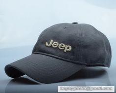 e72cab8b1f4 Jeep Baseball Cap Curved visor Hat Summer Men Women Hat Dark Gray