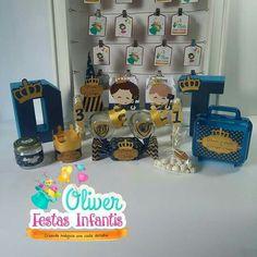 Festa Príncipe by Oliver Festas Infantis ☺