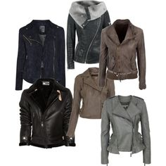 """Biker jackets a must"" by cordiva on Polyvore"