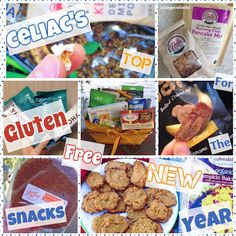 A College Celiac's Top Gluten Free Snacks for the New Year