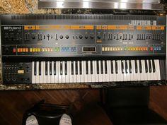 MATRIXSYNTH: Roland Jupiter 8 Analog Synthesizer SN 040137 with...