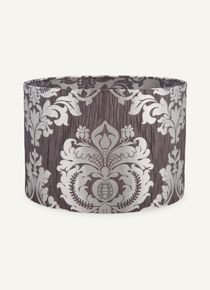 Shiny Damask Drum Shade at R250 from Woolworths.