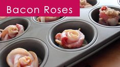 How to Bake the Perfect Bacon Roses with Recipe + Video Tutorial by Studio Knit