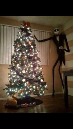diy nightmare before christmas halloween props life size diy jack skellington prop so does this mean i can put the tree up at halloween