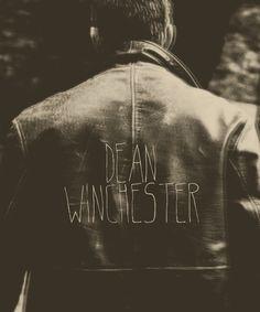Dean. Winchester. #Supernatural