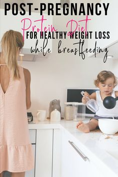 I am post-pregnancy now and looking for a diet! All her information on protein and how important it is totally makes sense! I am jumping on board with healthy protein shakes too! #protein #loseweightfast #postpartum
