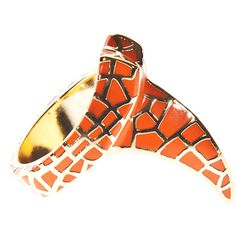 Dominic Jones Claw Orange Gold-Plated Claw Ring (725 CNY) found on Polyvore claw rings 爪戒指 20121129