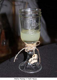 Awesome Mason Jar Toasting Glasses