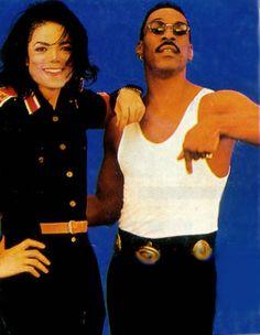 ♥ Michael Jackson ♥ & Eddie Murphy
