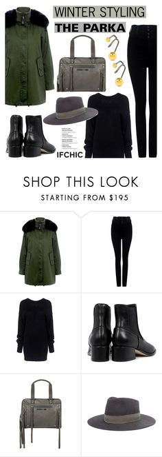 """Winter styling: THE PARKA"" by ifchic ❤ liked on Polyvore featuring 10 Crosby Derek Lam, Citizens of Humanity, TIBI, McQ by Alexander McQueen, Janessa Leone and Maria Black"