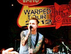 Yellowcard, Warped Tour 2012, Darien Lake, NY.