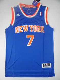 65b83a0bf New York Knicks  7 Carmelo Anthony Blue 3010 NBA New Jerseys