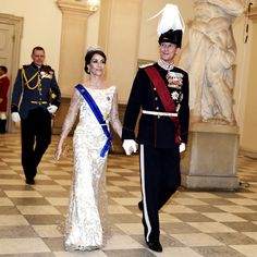 28 March 2017 - King Philippe and Queen Mathilde's state visit to Denmark (day 1)