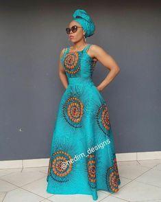African Print Maxi Dress @ nedim_designs By Diyanu African Print Dress Designs, African Print Clothing, African Print Fashion, Africa Fashion, African Prints, Tribal Fashion, African Fabric, Long African Dresses, Latest African Fashion Dresses