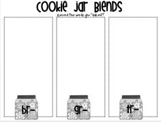 FREE - Blends word sort! From First Grade Parade's Blog. R blends!