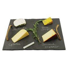 Rustic Farmhouse Slate Cheese Board