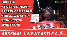 Kenyan Gooner Starts Campaign For Arsenal To Sign Victor Wanyama!   Arse...