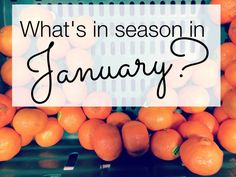 in season in january?