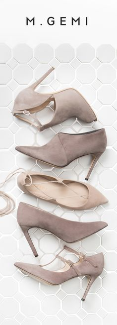 Beige, creamy tones tones are the perfect canvas for a sophisticated look. Explore the M. Stilettos, Pumps, High Heels, Cute Shoes, Me Too Shoes, Top Shoes, Mode Chic, All About Shoes, Shoe Closet