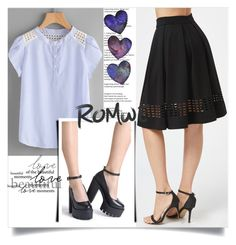 """Romwe VI/8"" by ruza66-c ❤ liked on Polyvore featuring romwe"