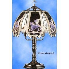 Ice Dragon Touch Lamp Pewter Base,Price: $32.00