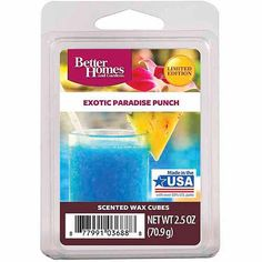 Better Homes and Gardens Wax Cubes, Exotic Paradise Punch - Walmart.com