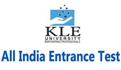 Looking for KLE University All India Entrance Test 2017. Visit Yosearch for KLEU AIET 2017 Eligibility, Applications, Dates, Entrance Date, Exam Centres..