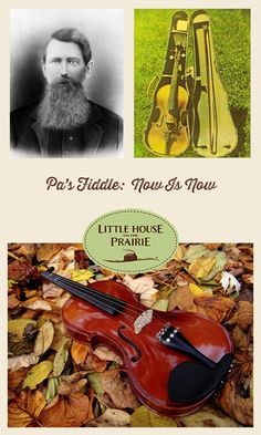 When Laura Ingalls Wilder wrote the final scene in her last Little House book for young readers, she gave the closing lines to Pa's fiddle and its music. Laura and Almanzo's wedding day has come to a close and the young couple sits on the doorstep of their own little house.